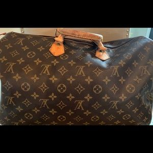Louis Vuitton satchel bag speedy